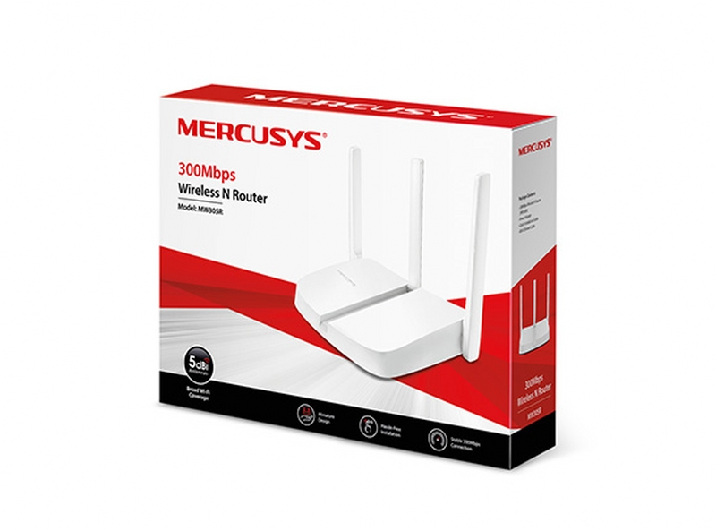 Mercusys MW305R 300Mbps Wireless Wi-Fi Router. redlinesys.com,